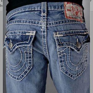True Religion Billy Super T Medium Bootcut Jeans